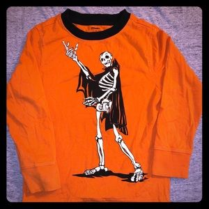 Boys glow-in-the-dark Halloween shirt